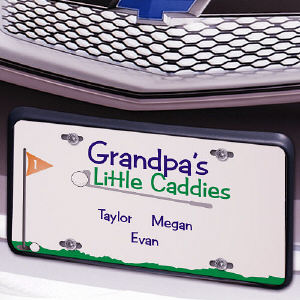 Little Caddies License Plate