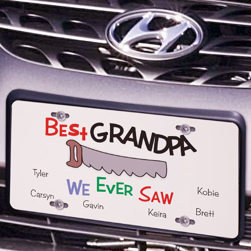 Best We Ever Saw License Plate | Personalized License Plates
