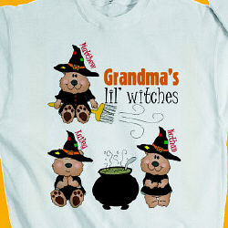 Lil Witches Personalized Halloween Sweatshirt