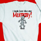 Look Like Mummy Personalized Halloween Youth Sweatshirt