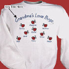 Love Bugs Personalized Sweatshirt