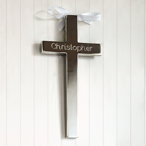 Personalized Any Name Cross with Ribbon | Personalized Christian Gifts