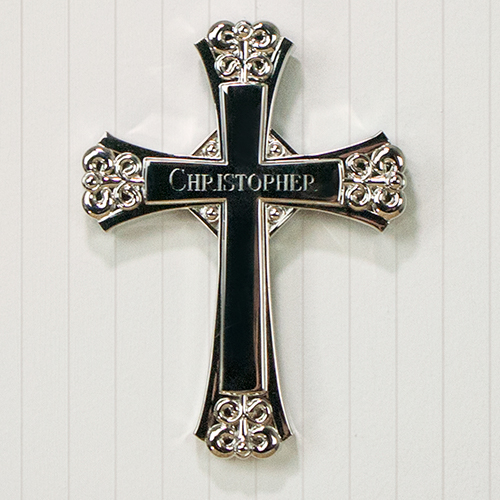 Engraved Any Name Wall Cross M000105