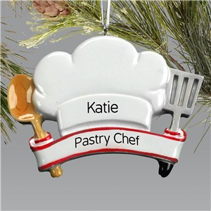 Personalized Chef Hat Ornament | Personalized Christmas Ornaments