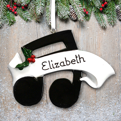 Personalized Musical Note Ornament M1074768
