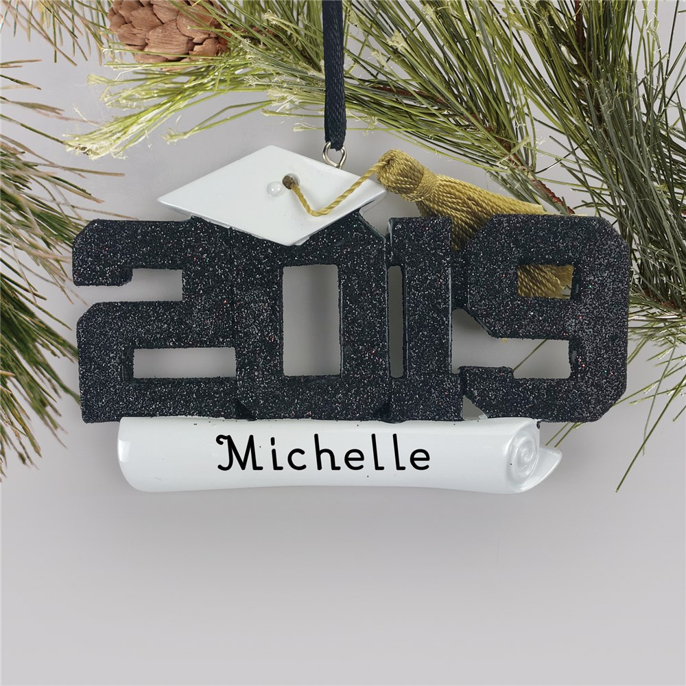 Personalized Graduation Ornament | 2019 Graduation Ornament