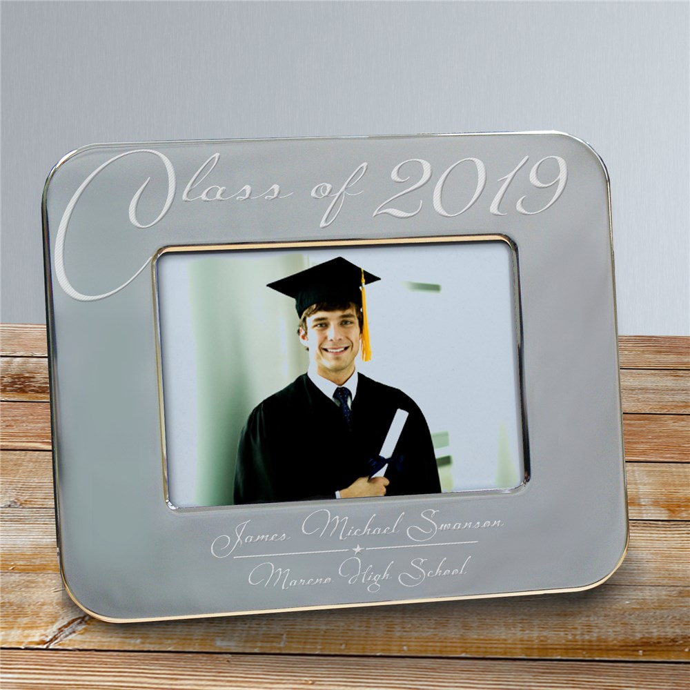 Engraved Class Of Graduation Picture Frame | Personalized Picture Frames