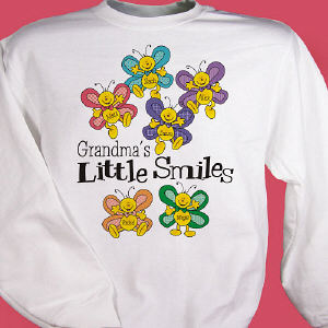 Little Smiles Personalized Sweatshirt