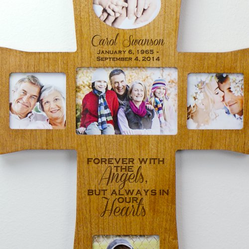 Engraved Wooden Memorial Cross L8056104