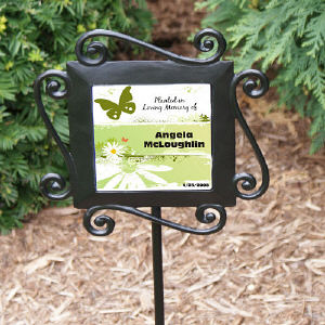 Planted in Loving Memory Garden Stake