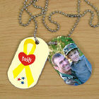 Military Personalized Photo Dog Tags
