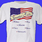 Personalized USA American Pride T-Shirt