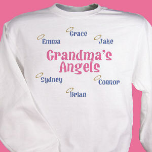 Halo Angels Personalized Sweatshirt