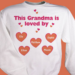 Is Loved By Personalized Sweatshirt