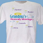 Heavenly Blessings Personalized T-Shirt