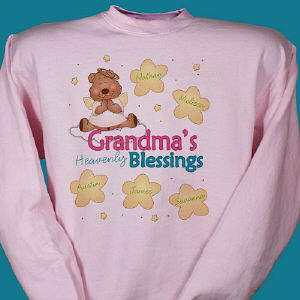 Heavenly Blessings Bear Sweatshirt