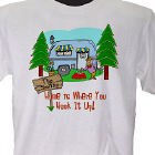 Home is Where You Hook It Up Personalized T-shirt