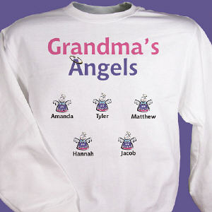 Little Angels Personalized Sweatshirt