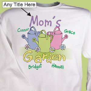 Garden Personalized Sweatshirt