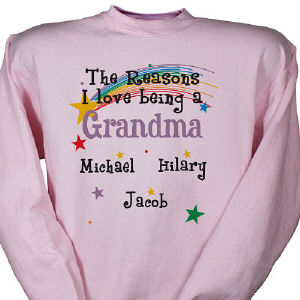 Reason I Love Personalized Sweatshirt