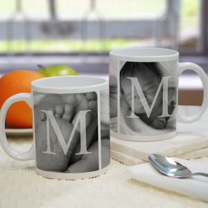 MOM Photo Mug | Customizable Coffee Mugs
