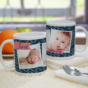Personalized Love Photo Mug | Customizable Coffee Mugs
