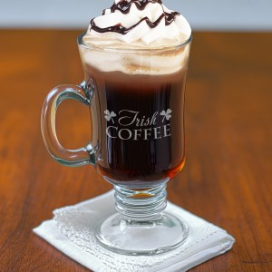 Engraved Irish Coffee Mug