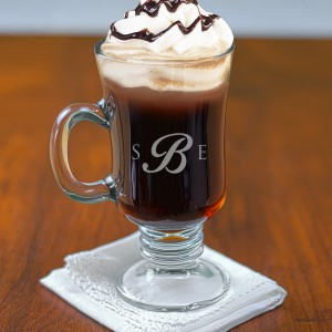 Monogram Irish Coffee Mug
