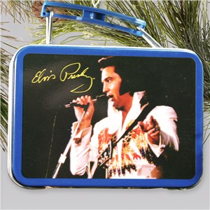 Elvis Presley Lunch Box Ornament NP00030