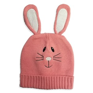 Easter Bunny Beanie | Pink Easter Hat