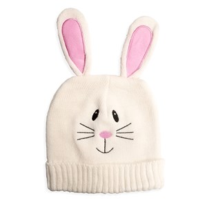 Easter Bunny Beanie | White Bunny Knit Hat