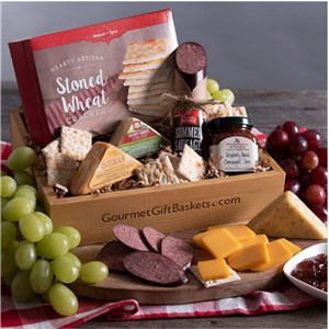 Gourmet Meat & Cheese Gift Box