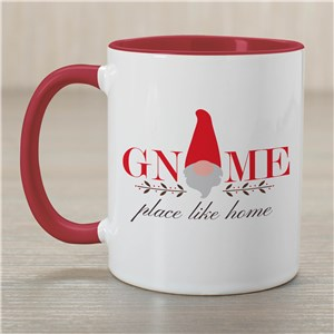 Gnome Place Like Home Mug | Christmas Gnome Mugs