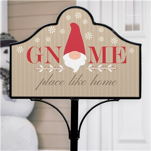Gnome Place Like Home Magnetic Garden Sign Set | Magnetic Signs