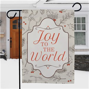 Joy To The World Garden Flag NP830136872X