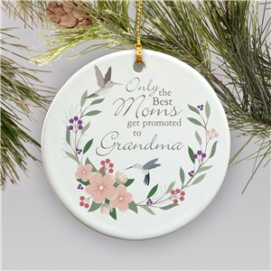 Grandma Ornament | Grandma Ornament with Birds