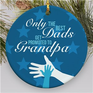 Grandpa Ornament | Grandpa Ornament With Hands