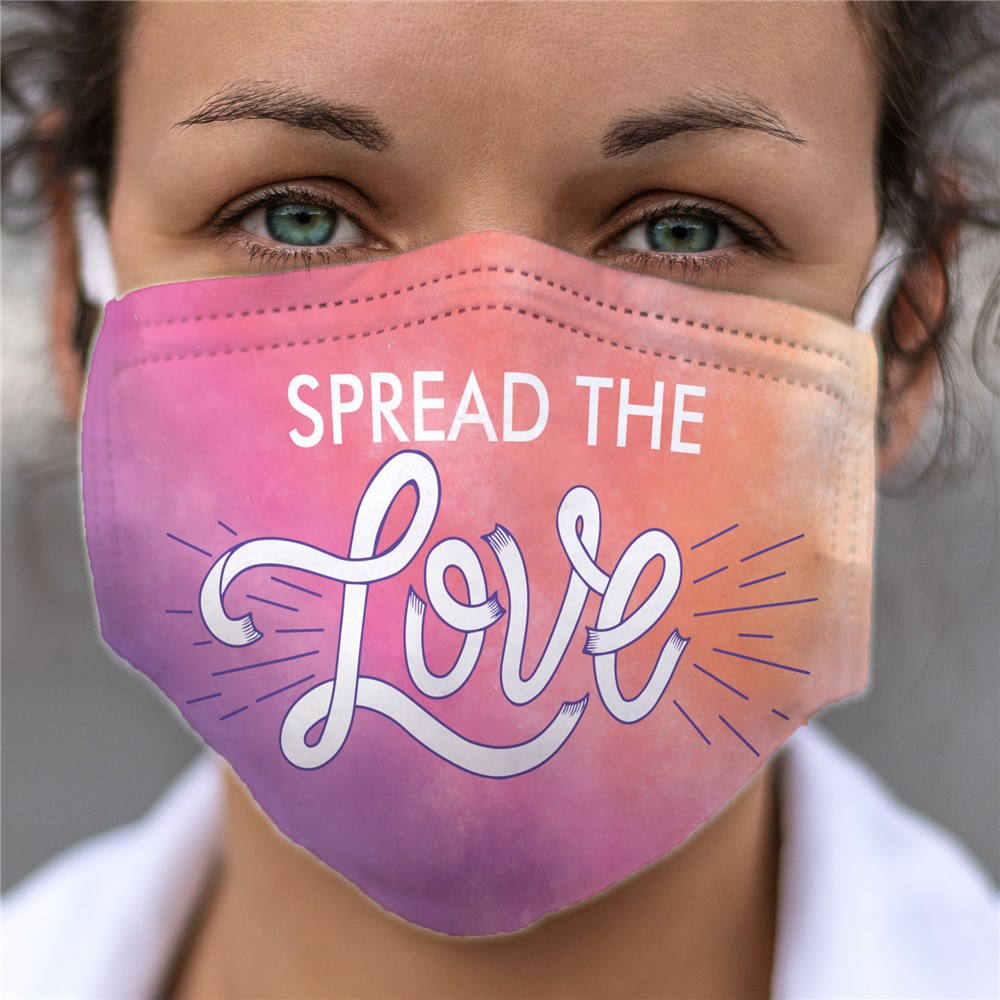 Spread the Love Face Mask
