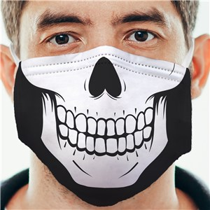 Non-Personalized Skeleton Adult Face Mask