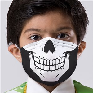 Non-Personalized Kids' Skeleton Face Mask