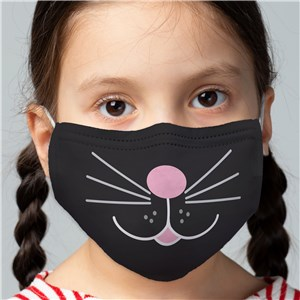 Non-Personalized Kids' Cat Face Mask