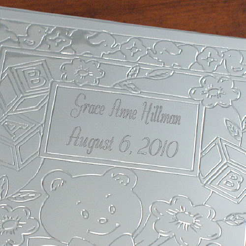 New Baby Bear Silver Photo Album