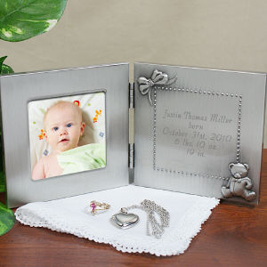 New Baby Silver Photo Frame