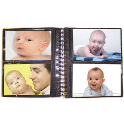 New Baby Keepsake Photo Album | Personalized Baby Photo Album