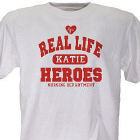 Real Life Heroes -  Personalized Nurse T-Shirt