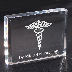 Medical Personalized  Keepsake Paperweight