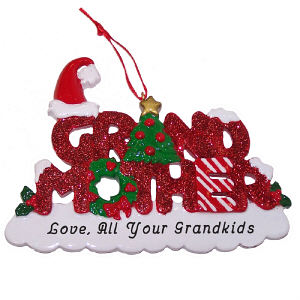 Grandmother Personalized Ornament