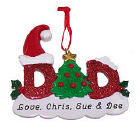 Dad Personalized Christmas Ornament