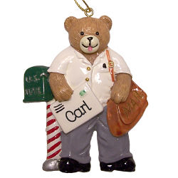 Mail Carrier Personalized Ornament