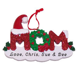 Mom Personalized Ornament